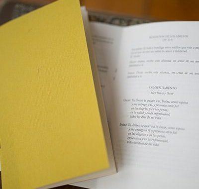 Libritos de ceremonia
